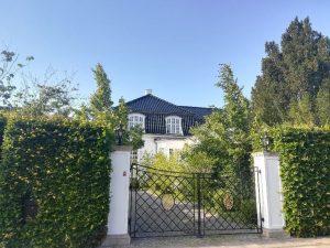 De dyreste hus i 2019 ligger på Lemchesvej i Hellerup. De blev solgt for 53 millioner kroner. Foto: Boliga.dk.
