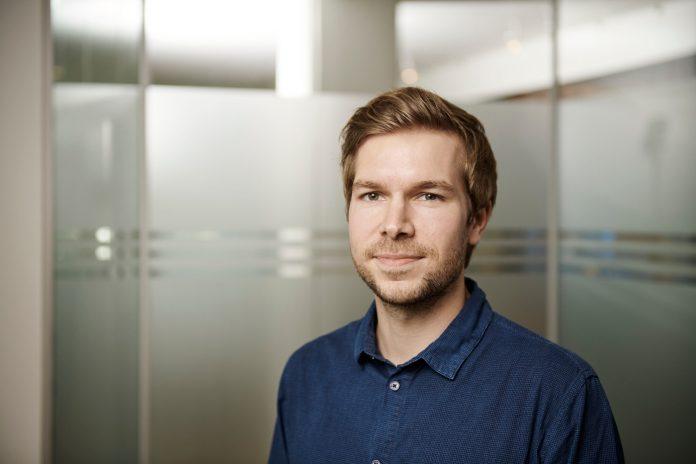 Jacob Hangaard, økonomisk konsulent i Dansk Byggeri. Foto: Ricky John Molloy.