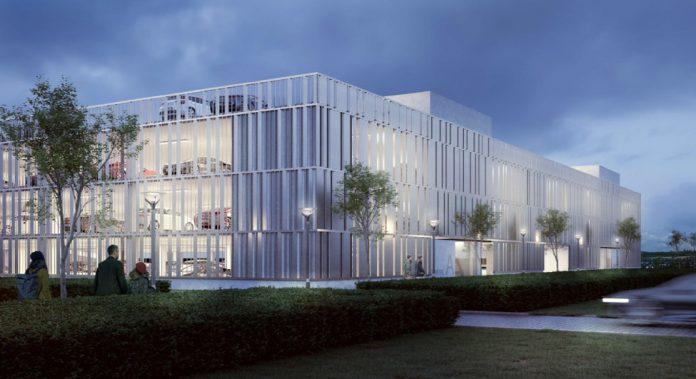 Nu bygges nyt parkeringshus i Billund Lufthavn.