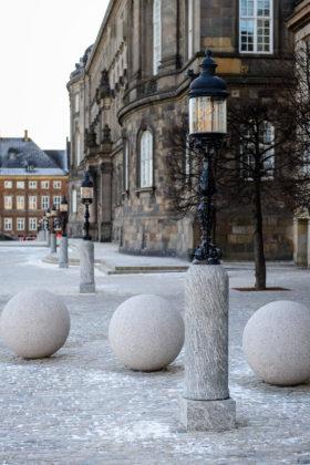 Christiansborg Slotsplads. Foto: GHB Landskabsarkitekter.