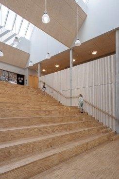 Grøndalsvængets Skole. Foto: Torben Eskerod, JJW Arkitekter.