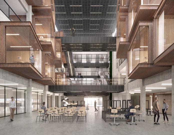 CUBO Arkitekter tegner udvidelse af Mærsk Mc-Kinney Møller Instituttet på SDU i Odense.