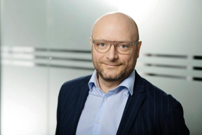 Simon Stig-Gylling, miljøchef i Dansk Byggeri. Foto: Ricky John Molloy.