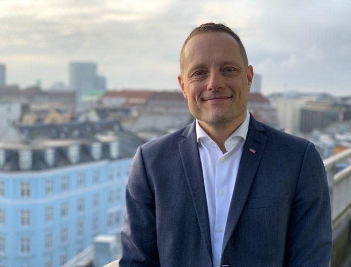 Søren Faerber, Scandics administrerende direktør i Danmark. Foto: PR.