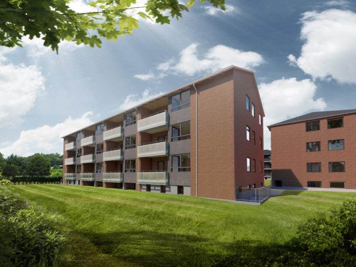 Casa renoverer boliger i Odense for Social Boligbyggeri og Civica.