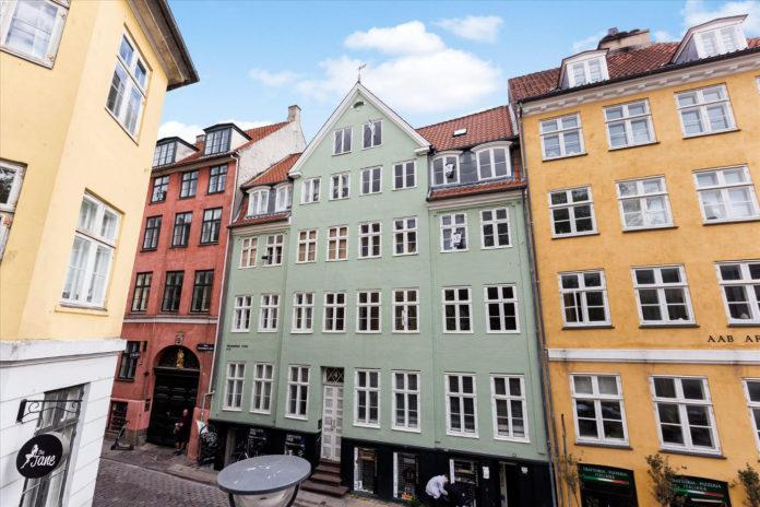 Dirch Passers gamle lejlighed på Gråbrødretorv solgt. Foto: EDC Poul Erik Bech City.