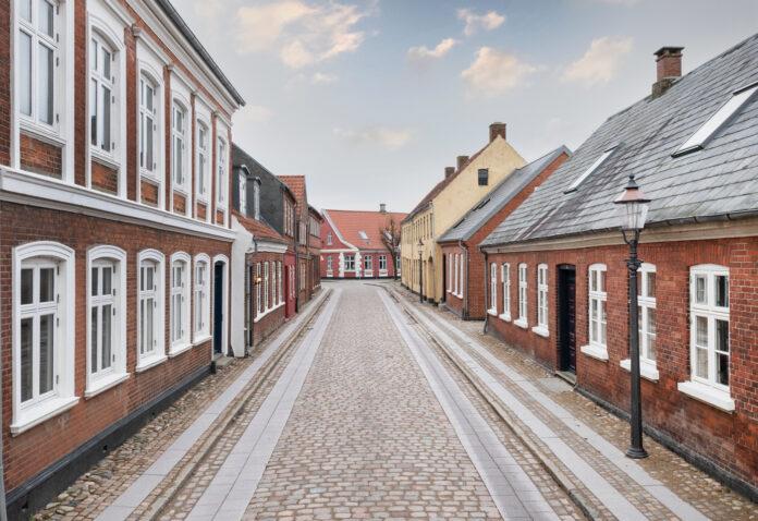 Gaderenovering i Ribe er afsluttet. Foto: PR.