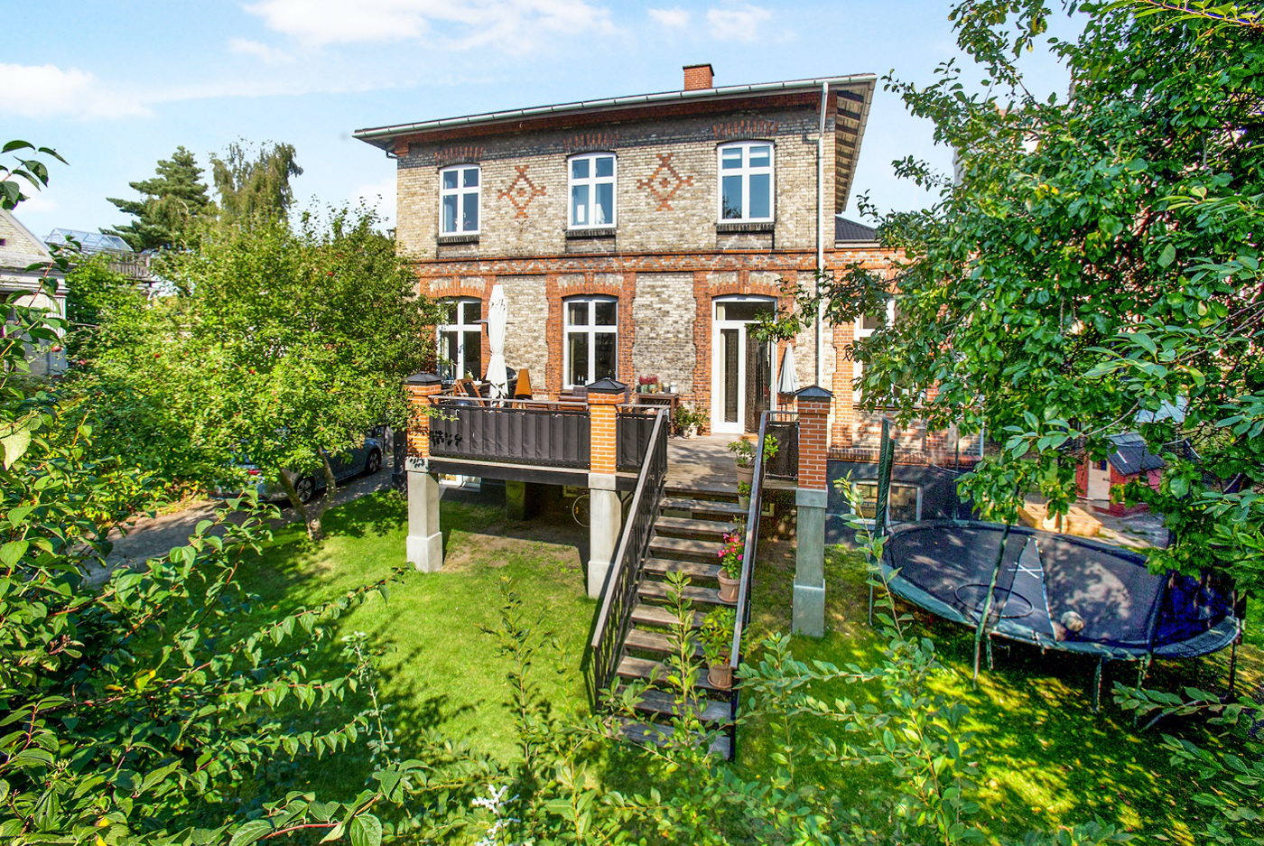 Omar Marzouks villa på Frederiksberg blev solgt for 13,8 millioner kroner. Foto: MMLiving.