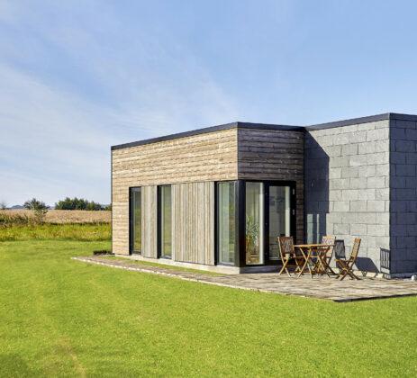 Danmarks mest bæredygtige villa, Villa Grenaa, med energi- og indeklimaløsningen LivingBetter fra Horn Group. Foto: PR.
