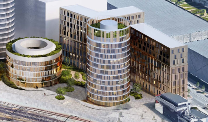 DSB og Danica udvikler ejendom på Carsten Niebuhrs Gade.