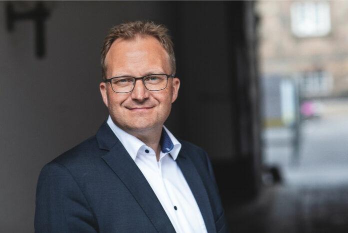 Formand for Landdistrikternes Fællesråd, Steffen Damsgaard. Foto: PR.