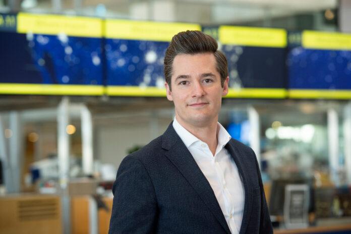 Kaspar Andreas Nissen, markeds- og ruteudvikler i Billund Lufthavn. Foto: Billund Lufthavn.