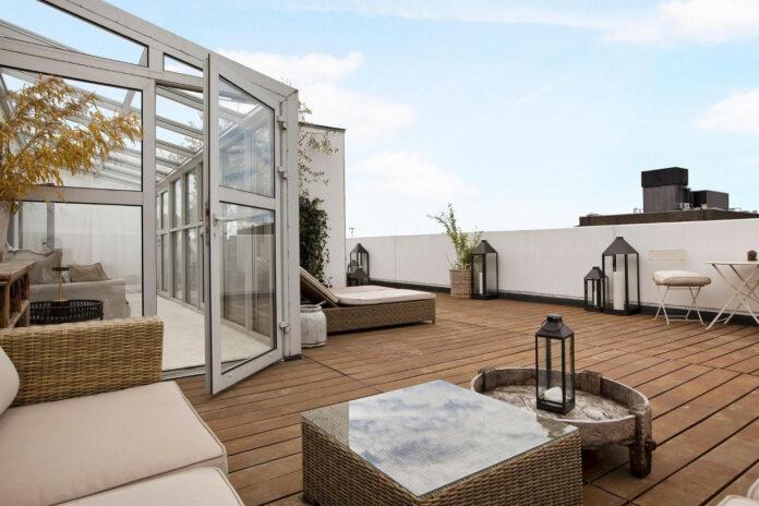 Medina sælger lejlighed på Frederiksberg for 8 millioner. Foto: Nybolig Dragør.