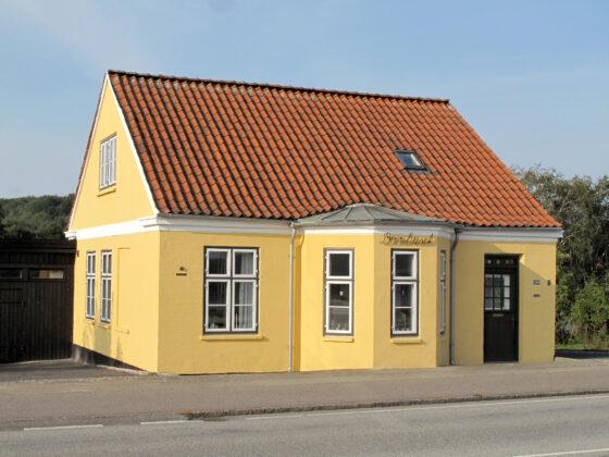 Flensborgvej 158 i Aabenraa – istandsættelse af fredet Bomhus. Foto: PR.