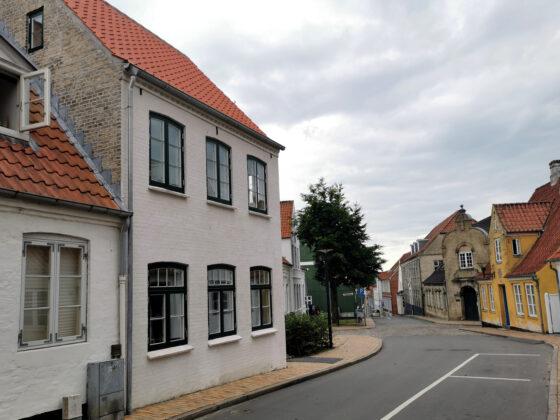 Nygade 39B i Aabenraa – istandsættelse af bevaringsværdigt byhus. Foto: PR.