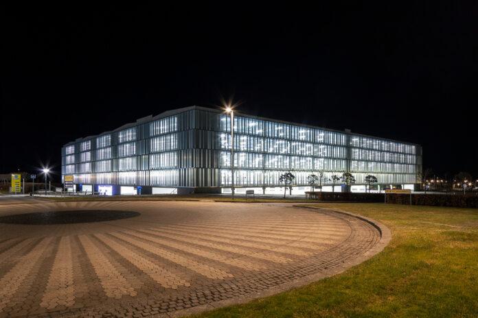 Nyt parkeringshus i Billund Lufthavn åbner. Foto: Billund Lufthavn.