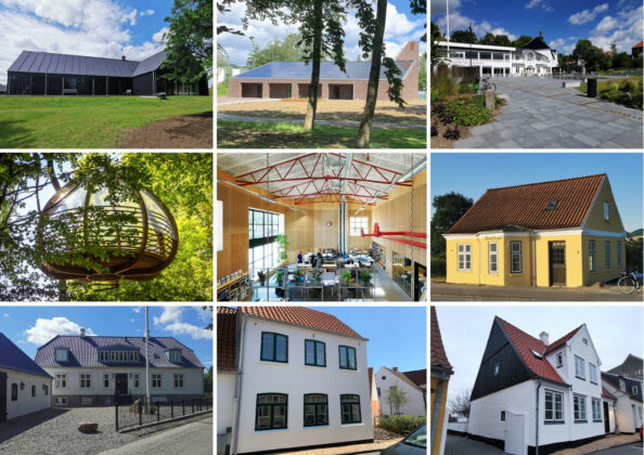 Vinderne af årets bygningspræmieringer i Aabenraa Kommune er fundet. Foto: PR.